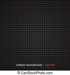 Carbon fiber material - Vector - Vector illustration of of...