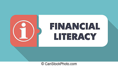 Financial Literacy Concept in Flat Design - Financial...