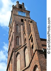 historic town hall in Brandenburg - historic town hall in...