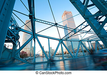 Steel bridge - Jiefang-Steel bridge in tianjin