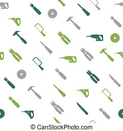 Home repair seamless pattern