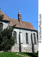 Secular church - Secular gothic church from Transylvania