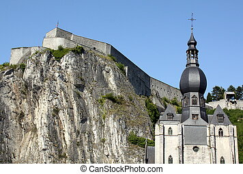 Citadel and Church - Citadel on a rock and the...
