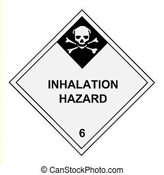 Inhalation Hazard Warning Label - United States Department...