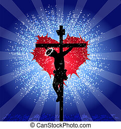 God is Love - Jesus Christ crucified