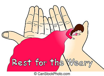 Rest for the Weary - Come to me, all you who are weary and...