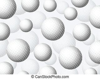 golf balls background