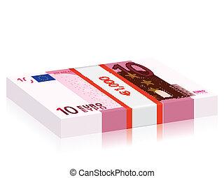ten euro stack