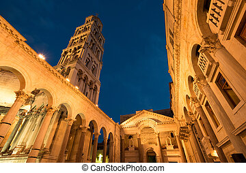 Historic Split - Split Cathedral and Diocletian Palace,...