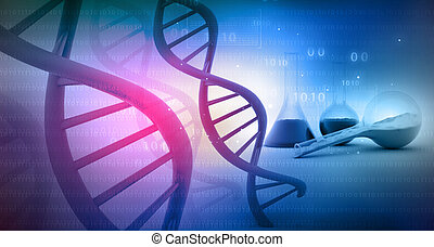 DNA with lab. science background