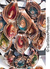 Murano necklaces - Necklaces from murano glass for sale