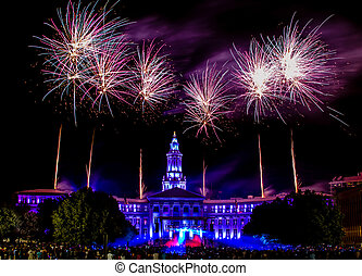 Denver CO 4th of July Fireworks - Independence Eve 4th of...