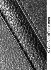 background of  leather. macro