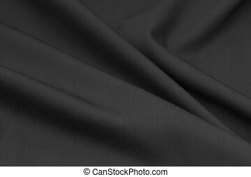 background of black cloth. texture