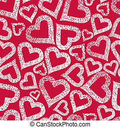 Hearts seamless pattern, Valentine theme seamless background, ve