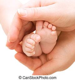 bebê, pés