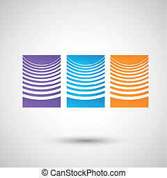 Vector graphics abstract design eps10.