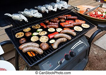 Garden grilling - Grilling is a form of cooking that...