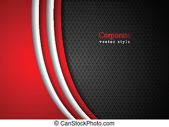 Abstract dark corporate background Vector illustration