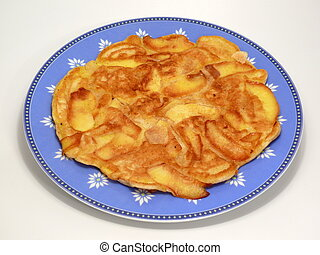Lunch - Pancake with Apple