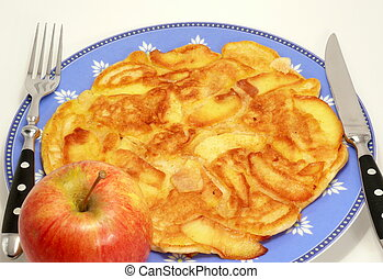 Pancake with Apple