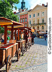 Market Square in Lviv Lvov