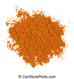 Badian - Photo of badian powder isolated on white