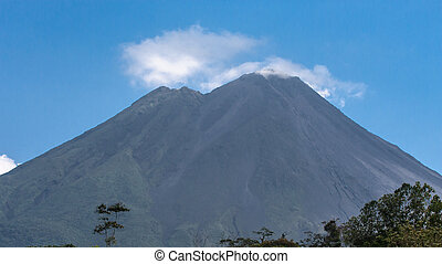 Arenal Volcano in Costa Rica - Arenal Volcano in the summer...