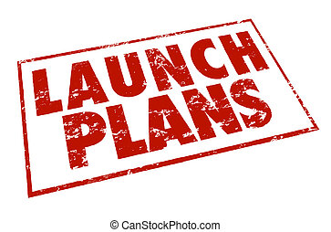 Launch Plans Red Stamp Information Advice Steps Begin New...