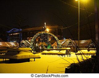 Christmas market in Riga, Latvia - Christmas market at main...