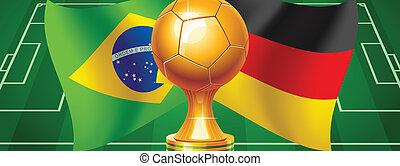 Brazil Germany - Final World Cup Soccer 2014 Germany Brazil...