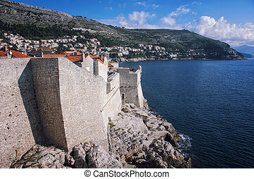 View of Old City Dubrovnik, Croatia