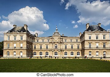 Luxemburg Palace in Paris, France