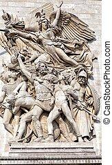 Triumphal Arch in Paris, France - Triumphal Arch honours...
