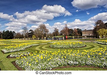 Kew gardens in London - The Royal Botanic Gardens, Kew was...