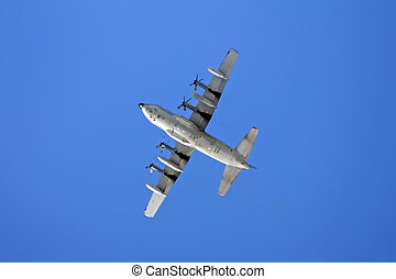 Air Force Plane - This image shows a German flying air force...