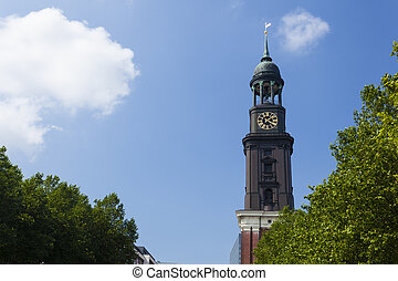 Hamburg St. Michaelis Church - The famous St. Michaelis...