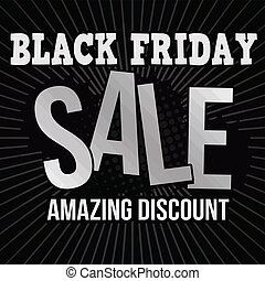 Black friday sale poster - Black friday sale, amazing...