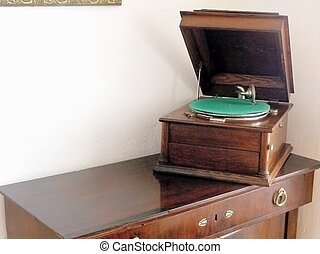 Historical audio playback equipment - Picture time visiting...