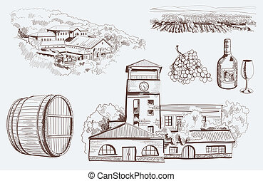 art of winemaking - production and tasting homemade wine....