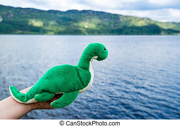 Nessie: Loch Ness Monster - Nessie the mysterious and cute...