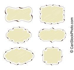frames - set of decorative frames for more use