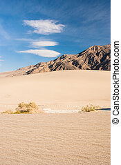 Stovepipe Wells, Death Valley - Desert scene at Stovepipe...