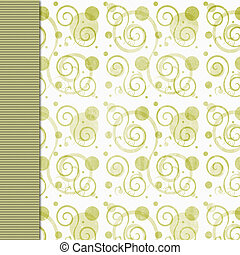 Olive green retro grunge background - Retro olive green...