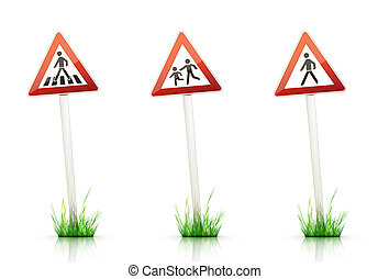 Traffic Sign acirc;euro;ldquo; Warning - Warning Traffic...