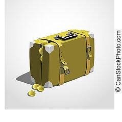 Bag full of money 01