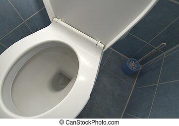 Banheiro, detalhe