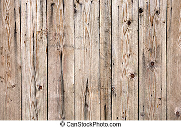 Texture of old wooden lining boards wall