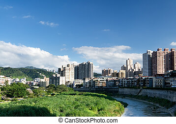 city in the day - Here is the city scene of day in Taiwan