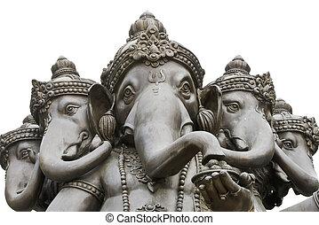 ganesh,  hindú, dios